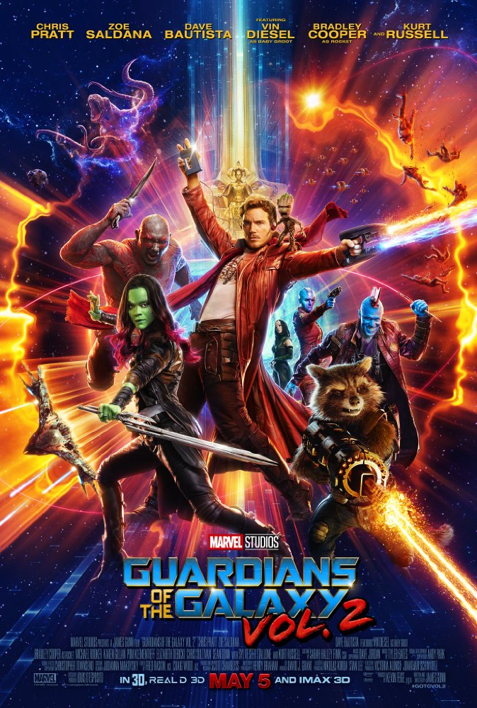 Movie Charts UK and US week ending May 7th 2017