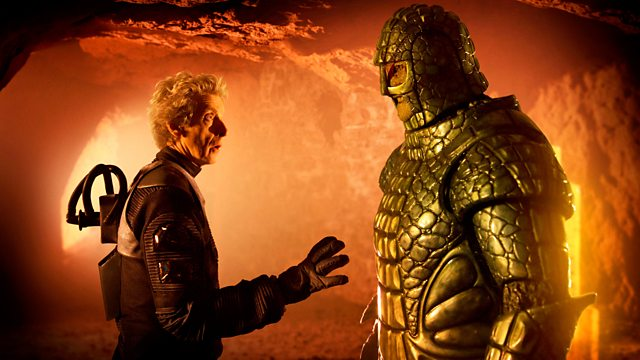 Once Again A Misunderstanding In Doctor Who Was Leading To Another War This Time With The Upright Crocodiles