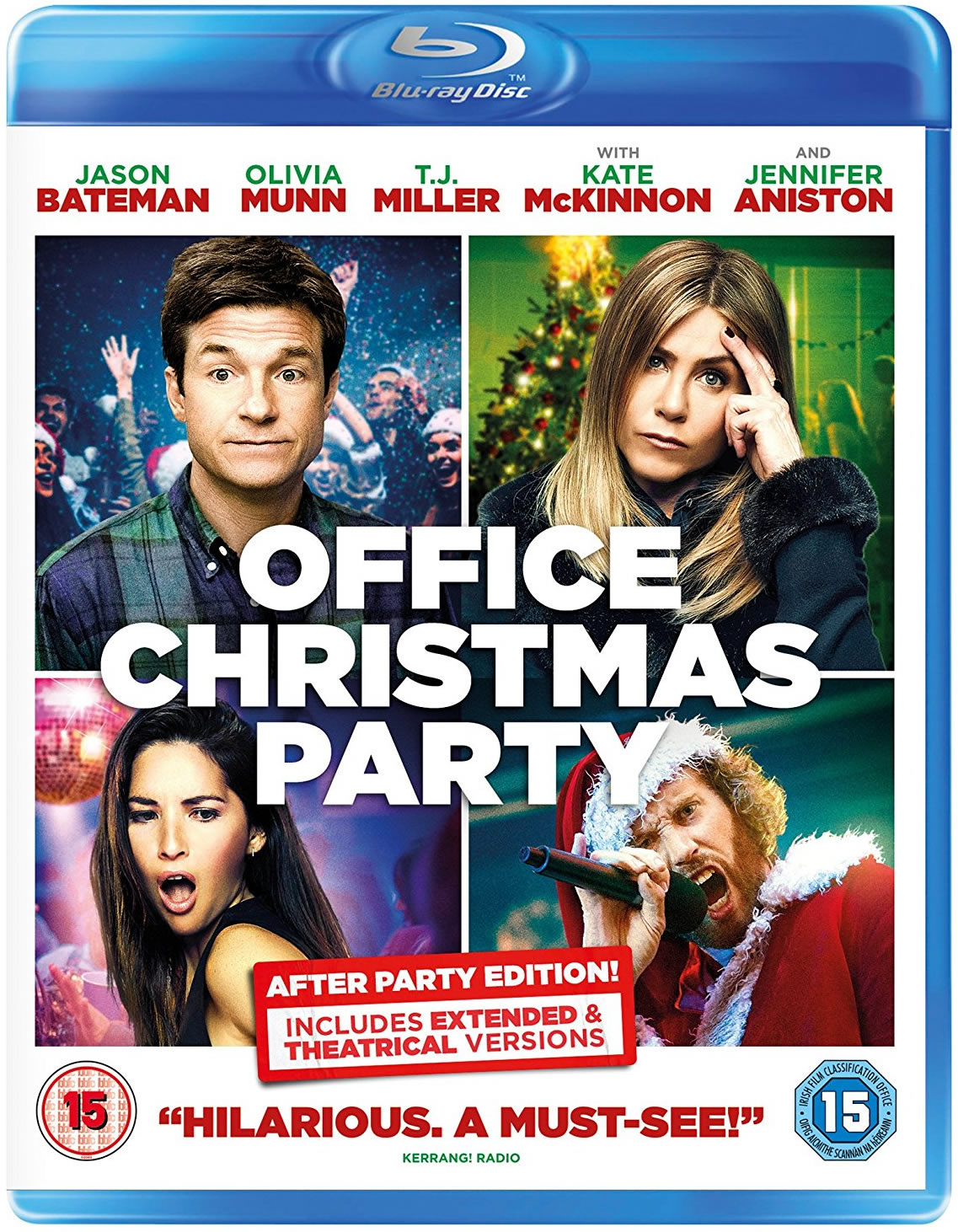Office Christmas Party on Blu-ray - The DVDfever Review - DVDfever.co.uk
