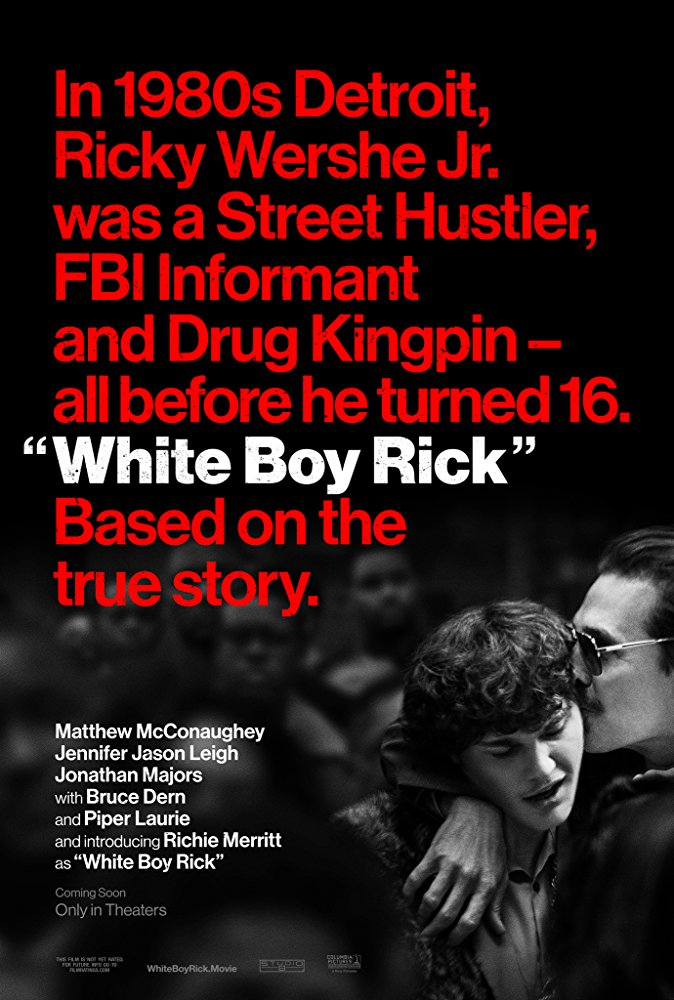 White Boy Rick - Trailer 1 - Matthew McConaughey