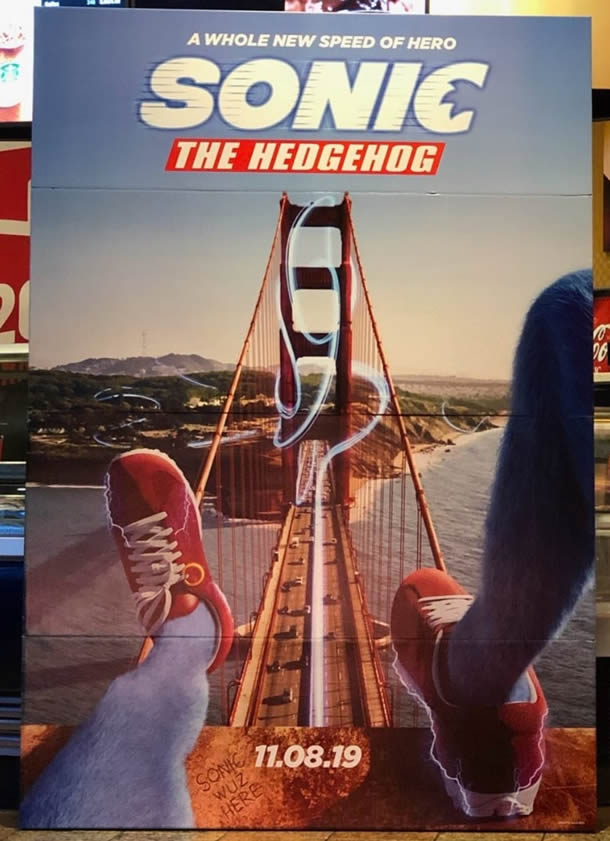 Sonic The Hedgehog 2019 Movie New Poster And Trailer Dvdfevercouk