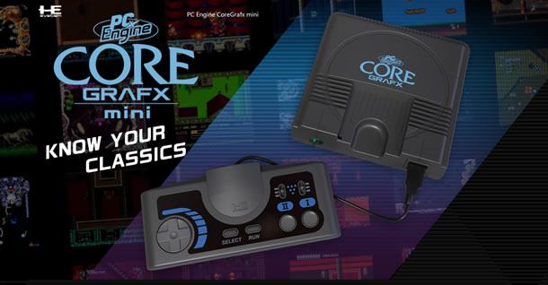PC Engine CoreGrafx mini